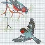 Etamin Şablonları Kuş Desenleri 81