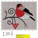 Etamin Şablonları Kuş Desenleri 83