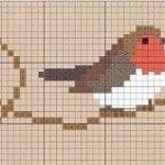 Etamin Şablonları Kuş Desenleri 88