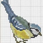 Etamin Şablonları Kuş Desenleri 89
