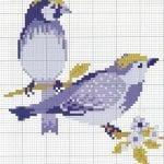 Etamin Şablonları Kuş Desenleri 91