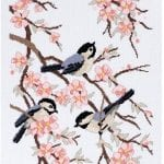 Etamin Şablonları Kuş Desenleri 92