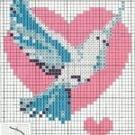 Etamin Şablonları Kuş Desenleri 93