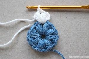 Fıstıklı Bebek Battaniyesi Modeli Yapılışı 11