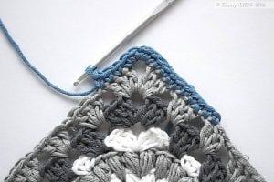 Fıstıklı Bebek Battaniyesi Modeli Yapılışı 2