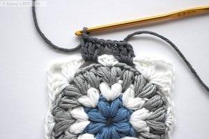 Fıstıklı Bebek Battaniyesi Modeli Yapılışı 5