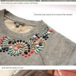 Giysi Süsleme Modelleri 116