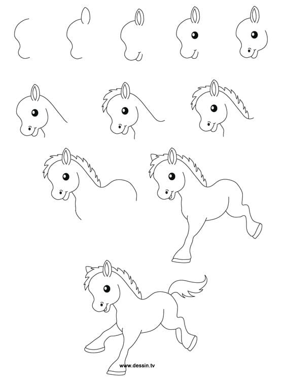 Hayvan Resimleri Nasıl Çizilir? 58