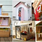 Kartondan Ev Yapımı - Resimli Videolu Örnekleri 10