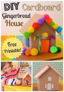 Kartondan Ev Yapımı - Resimli Videolu Örnekleri 5