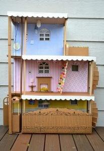 Kartondan Ev Yapımı - Resimli Videolu Örnekleri 8