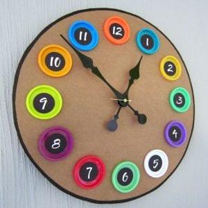 Kartondan Saat Nasıl Yapılır? 3