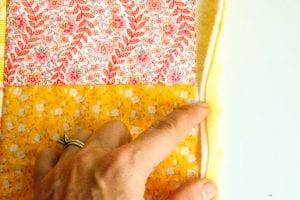 Kırkyama Bebek Battaniyesi Yapımı 9