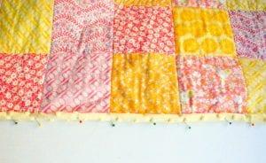 Kırkyama Bebek Battaniyesi Yapımı 10