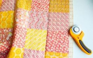 Kırkyama Bebek Battaniyesi Yapımı 11