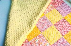 Kırkyama Bebek Battaniyesi Yapımı 12