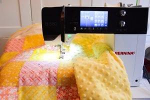 Kırkyama Bebek Battaniyesi Yapımı 13