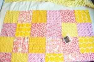 Kırkyama Bebek Battaniyesi Yapımı 14