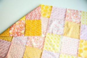 Kırkyama Bebek Battaniyesi Yapımı 15