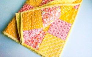 Kırkyama Bebek Battaniyesi Yapımı 1
