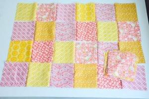 Kırkyama Bebek Battaniyesi Yapımı 21
