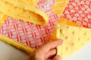Kırkyama Bebek Battaniyesi Yapımı 2