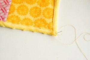 Kırkyama Bebek Battaniyesi Yapımı 3