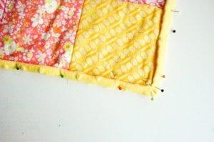 Kırkyama Bebek Battaniyesi Yapımı 4