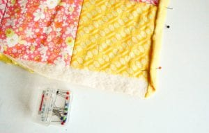 Kırkyama Bebek Battaniyesi Yapımı 5