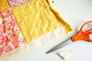 Kırkyama Bebek Battaniyesi Yapımı 7