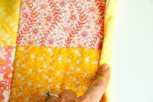 Kırkyama Bebek Battaniyesi Yapımı 8