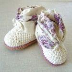 Kız Bebek Patiği Çeşitleri 17