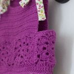 Kumaşla Örgü Kız Çocuk Elbise Modelleri ve Yapılışı 107