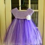 Kumaşla Örgü Kız Çocuk Elbise Modelleri ve Yapılışı 29