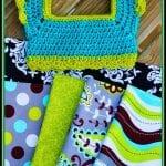 Kumaşla Örgü Kız Çocuk Elbise Modelleri ve Yapılışı 60