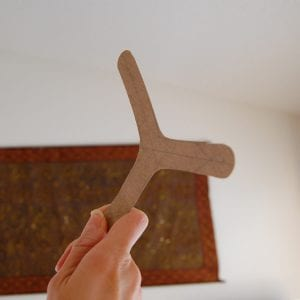 Okul Öncesi Etkinlik Bumerang Yapılışı 2