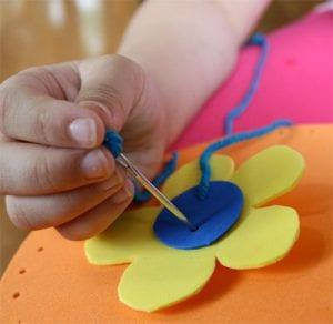 Okul Öncesi Evadan Çanta Yapımı Evadan Çanta Yapılışı