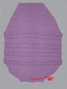 Tulum Bebek Battaniyesi Yapılışı 9