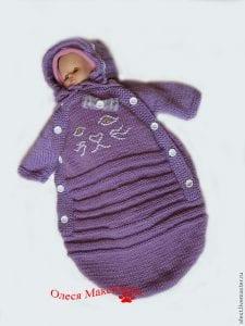 Tulum Bebek Battaniyesi Yapılışı 19