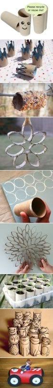 Tuvalet Kağıdı Rulosundan Neler Yapılır 32