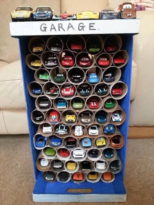 Поделка своими руками гараж 24