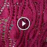 Videolu, Damla Desenli Ajurlu Şal Modeli Yapımı 3