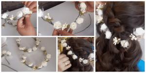 Videolu, Evde Çiçekli Taç Nasıl Yapılır?