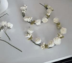 Videolu, Evde Çiçekli Taç Nasıl Yapılır? 4