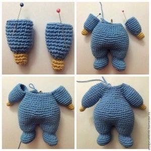 Amigurumi Emzikli Bebek Yapımı 4