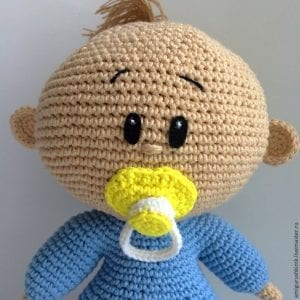 Amigurumi Emzikli Bebek Yapımı