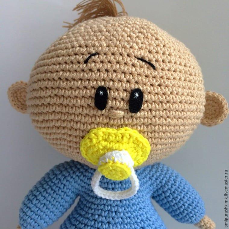 Amigurumi Uyku Arkadaşı : Amigurumi emzikli bebek yap m mimuu