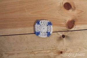 Aşk Motif Bebek Battaniyesi Modeli Yapılışı 1