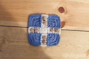 Aşk Motif Bebek Battaniyesi Modeli Yapılışı 5