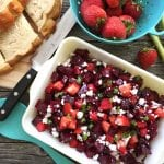 Çilekli Pancar Salatası Tarifi
